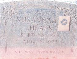Susannah <i>Gouldthorpe</i> Heaps