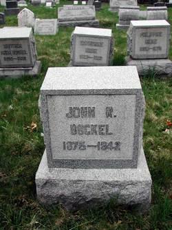John Rudolph Rudy Bockel