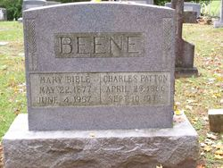 Mary Elmina <i>Bible</i> Beene