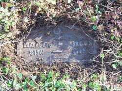 Elizabeth <i>Miller</i> Brown