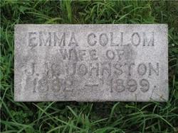 Emma <i>Collom</i> Johnston