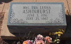 Eva Leona <i>Cunningham</i> Ashinhurst