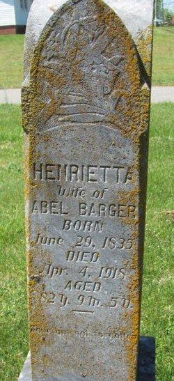 Henrietta <i>Seaboch</i> Barger