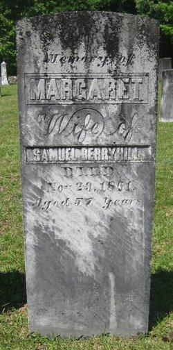 Margaret <i>Alexander</i> Berryhill