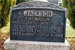 Elizabeth <i>Loosli</i> Jackson