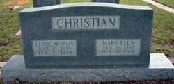 Mary Ellen <i>Lenhard</i> Christian