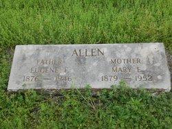 Mary Elizabeth Lizzie <i>Gober</i> Allen