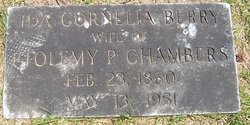 Ida Cornelia <i>Berry</i> Chambers