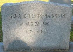 Gerald Potts Hairston
