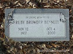 Ruby <i>Browder</i> Bennett