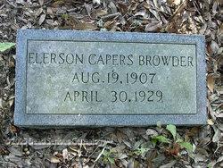 Elerson Capers Browder