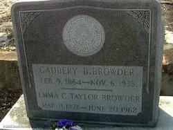 Emma C. <i>Taylor</i> Browder