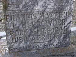 Francis M. Browder
