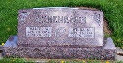 Wilda May <i>Schutt</i> Achenbach