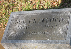 Susan Caroline Sue <i>Appling</i> Crawford