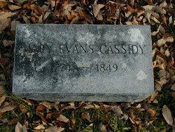 Mary Ann <i>Evans</i> Cassidy