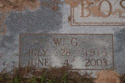William Garland <i>'W.G.'</i> Boston