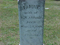 Frances Elizabeth Fannie <i>Grove</i> Abbott