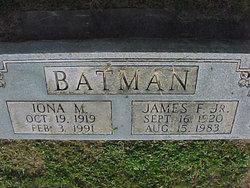 Iona Mary <i>Cave</i> Batman
