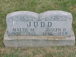 Mattie M <i>Racer</i> Judd