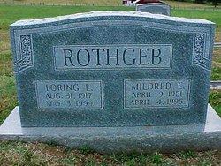 Mildred Elizabeth <i>Crist</i> Rothgeb