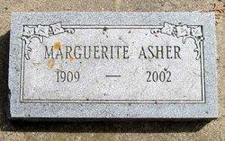 Marguerite <i>Davidson</i> Asher