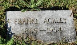 Frances E. Franke <i>Finch</i> Ackley