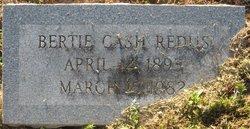 Bertie <i>Cash</i> Redus