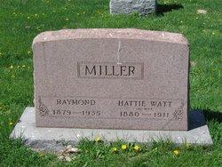 Hattie <i>Watt</i> Miller
