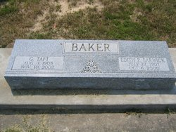 Edith P. <i>Barwick</i> Baker