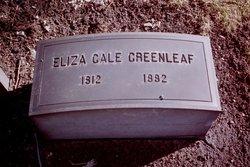 Eliza <i>Gale</i> Greenleaf