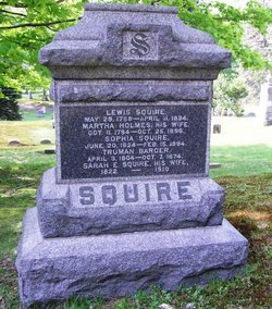 Sarah E. <i>Squire</i> Barger