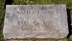 Walter Theadore Bahr