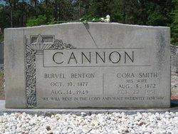 Burvel Benton Cannon