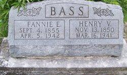 Francis Emily Fannie <i>Morrison</i> Bass