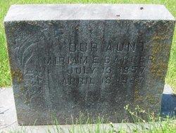 Miriam E. Barger