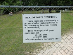 Brazos Point Cemetery