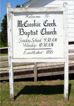 McCroskie Creek Baptist Church Cemetery