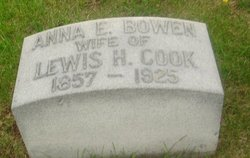Anna E. <i>Bowen</i> Cook