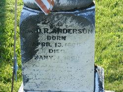 Daniel R Anderson