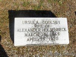 Ursula <i>Goolsby</i> Holsenbeck