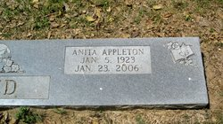 Anita Lorene <i>Appleton</i> Alred