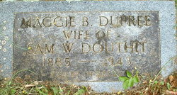 Maggie Blanch <i>DuPree</i> Douthit