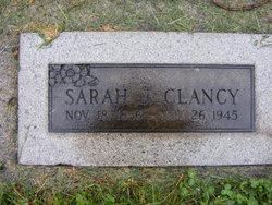 Sarah Jane <i>Sanders</i> Clancy