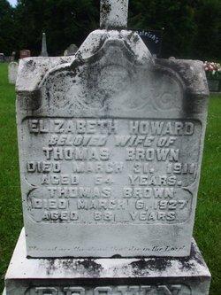 Elizabeth <i>Howard</i> Brown