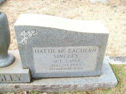 Hattie <i>McEachern</i> Singley