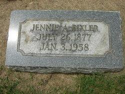 Jennie A Bixler