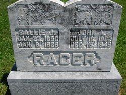 Sallie J <i>Butler</i> Racer