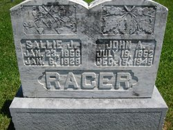 Sarah J Sallie <i>Butler</i> Racer