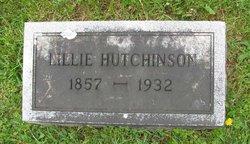 Lillie Ann <i>Kibler</i> Hutchinson